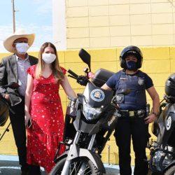 GCM de Ferraz recebe três motocicletas para patrulhamento