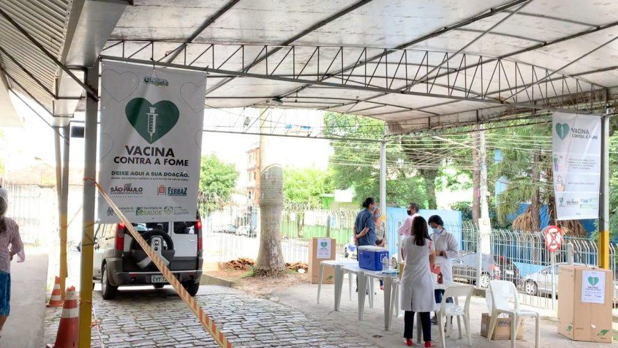Ferraz lança oficialmente campanha Vacina Contra a Fome