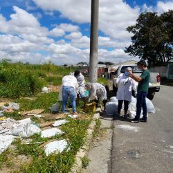 Vigilância de Ferraz atende denúncia sobre descarte irregular de lixo hospitalar